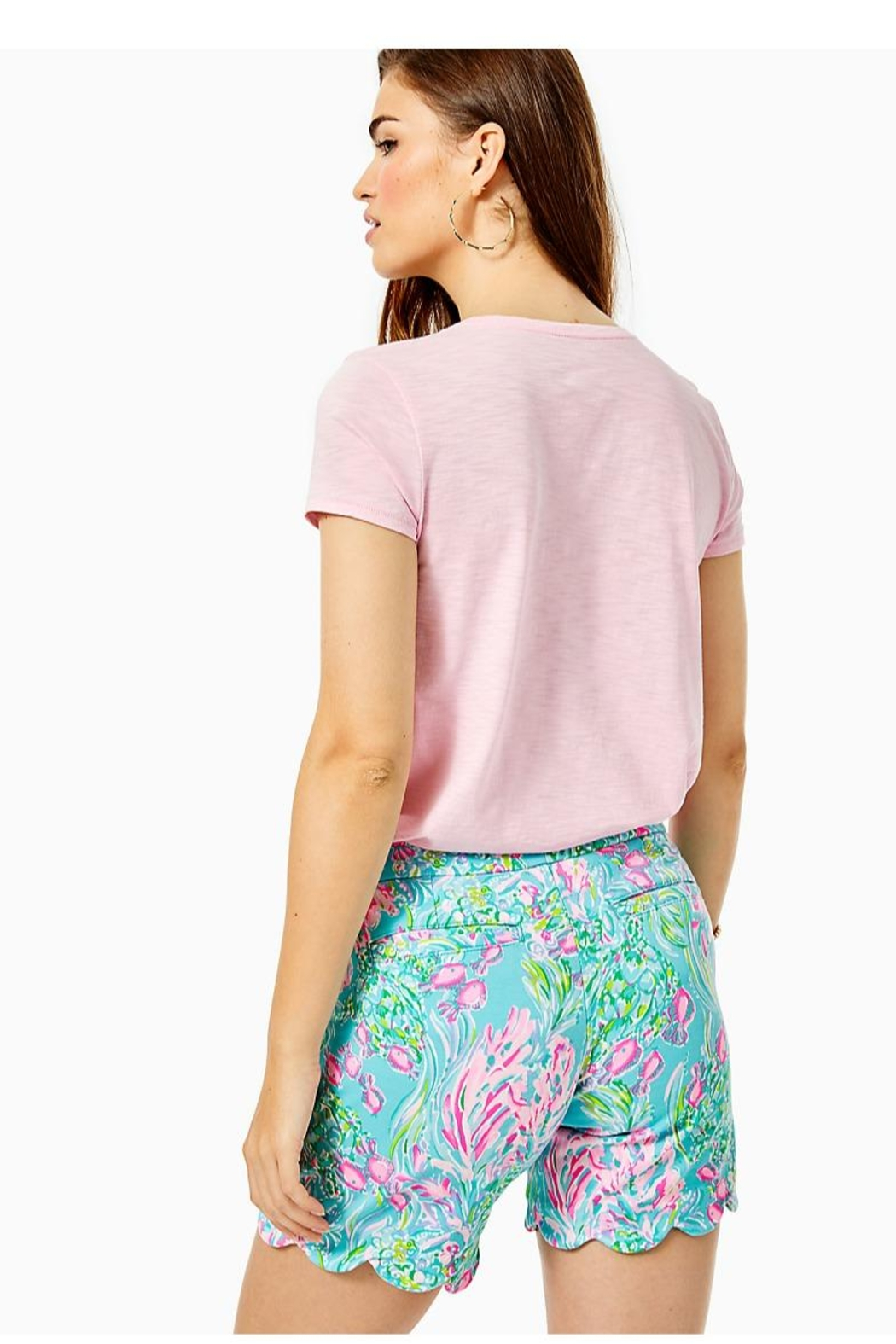 Lilly Pulitzer Darci Knit Short - Front Full Image