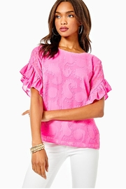 Lilly Pulitzer Darlah Top - Product Mini Image