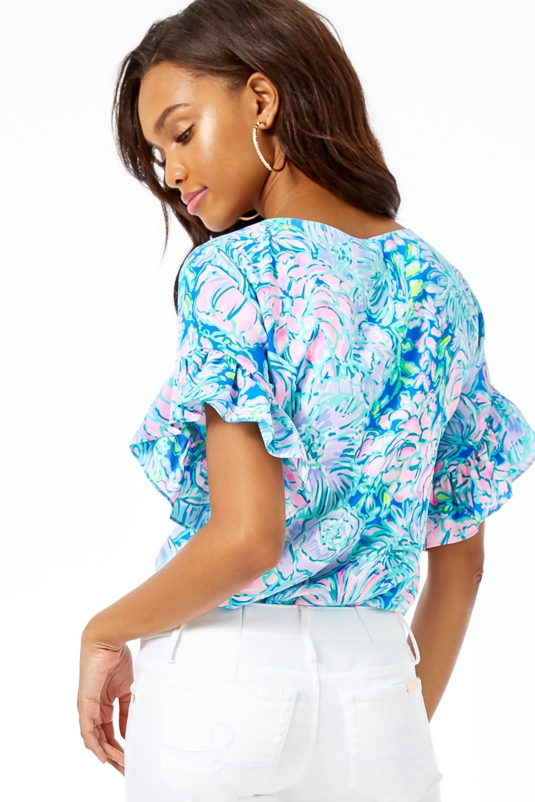 Lilly Pulitzer Darlah Top - Front Full Image