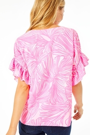 Lilly Pulitzer Darlah Top - Front full body