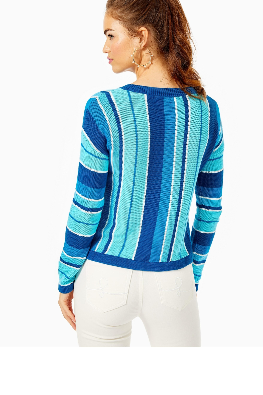 Lilly Pulitzer Daryn Sweater - Front Full Image