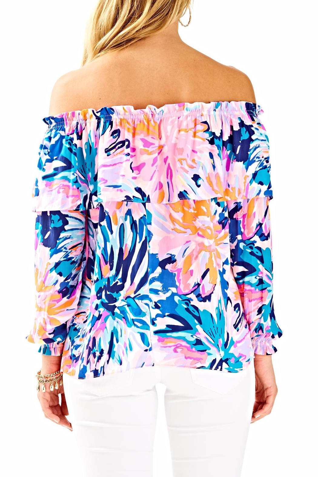 Lilly Pulitzer Dee Top - Front Full Image