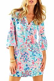 Lilly Pulitzer Del Lago Tunic Dress - Front cropped