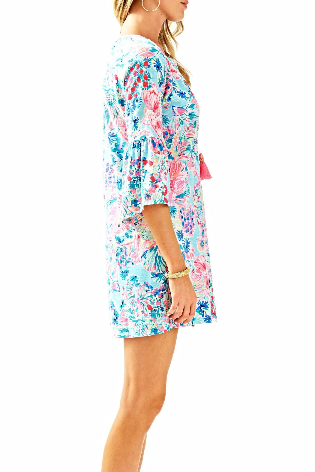 Lilly Pulitzer Del Lago Tunic Dress - Side Cropped Image
