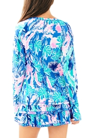 Lilly Pulitzer Delaynee Half-Zip - Front full body