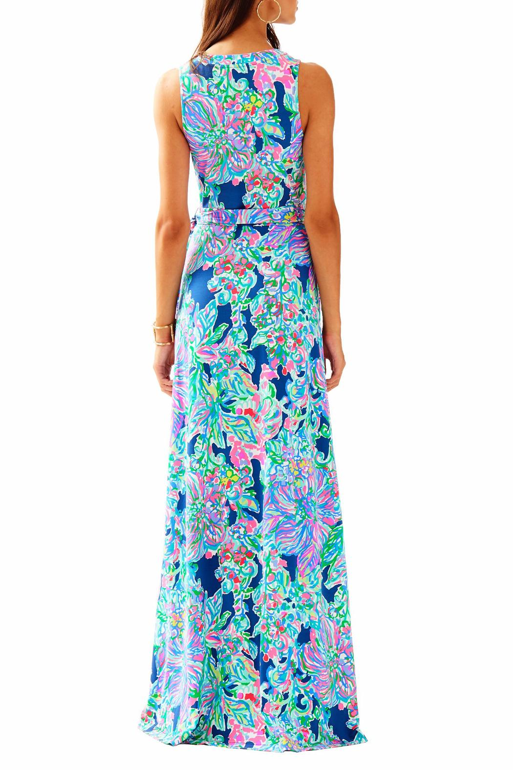 Lilly Pulitzer Delfina Maxi Wrap Dress from Sandestin Golf and Beach ...