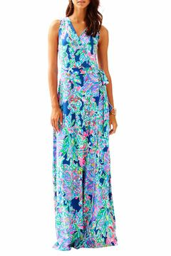 Shoptiques Product: Delfina Maxi Wrap Dress