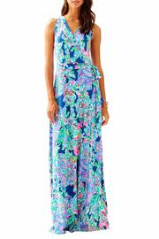 Lilly Pulitzer Delfina Maxi Wrap Dress - Product Mini Image