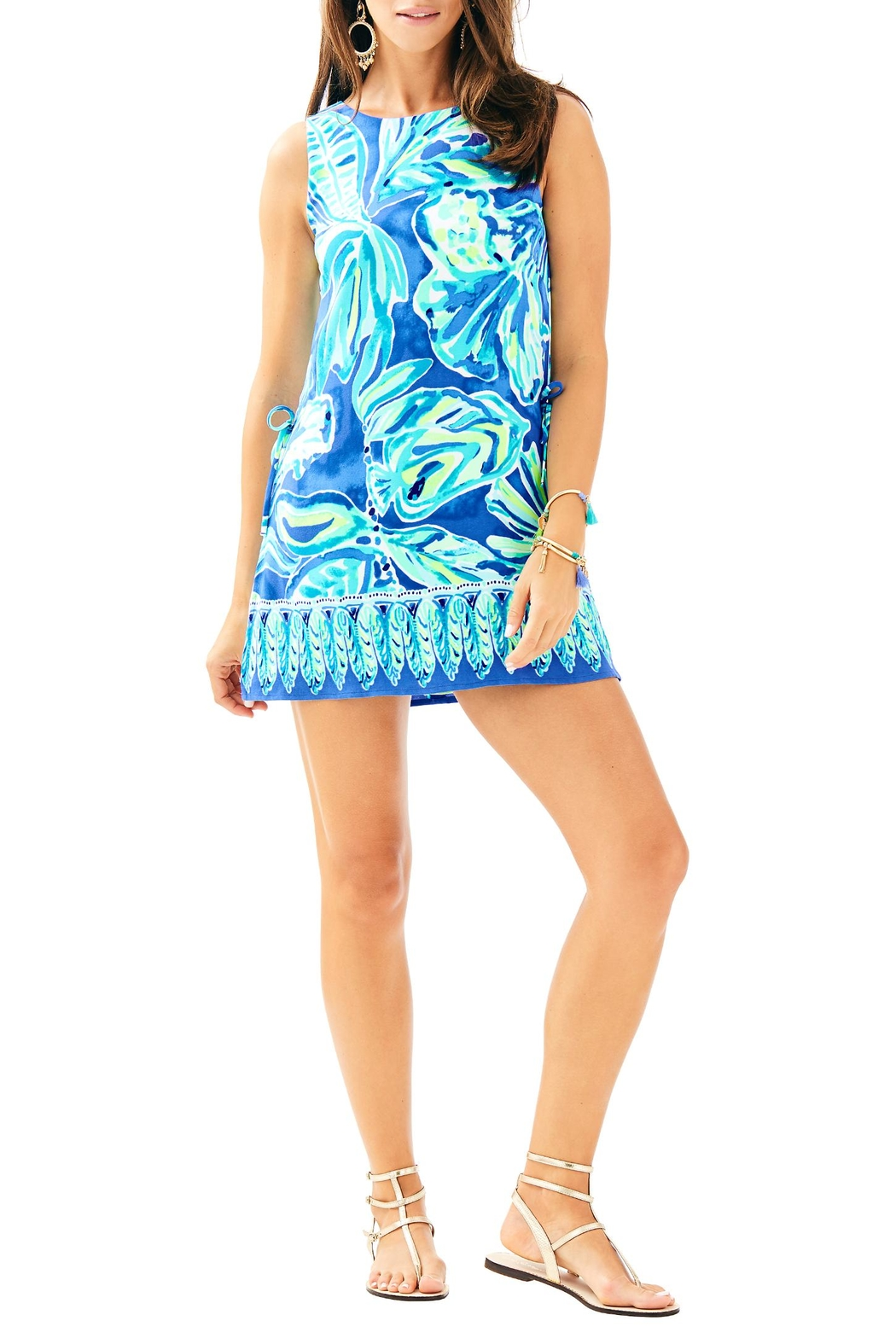 Lilly Pulitzer Donna Romper - Back Cropped Image