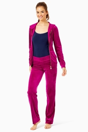 Lilly Pulitzer Dorsey Velour Pant - Product Mini Image