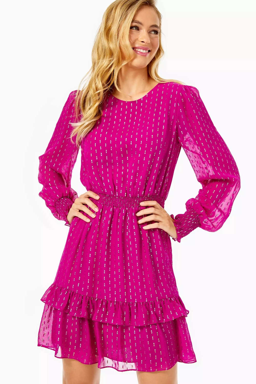 Lilly Pulitzer Dotti Ruffle Dress - Main Image