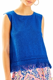 Lilly Pulitzer Edenwood Sweater Tank Top - Product Mini Image