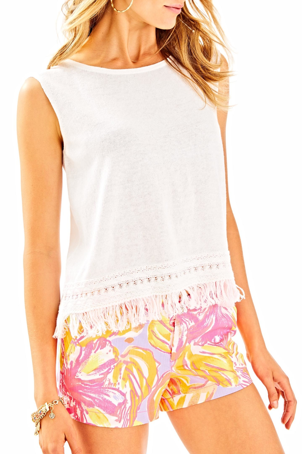 Lilly Pulitzer Edenwood Sweater Tank Top - Main Image