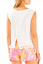 Lilly Pulitzer Edenwood Sweater Tank Top - Back cropped