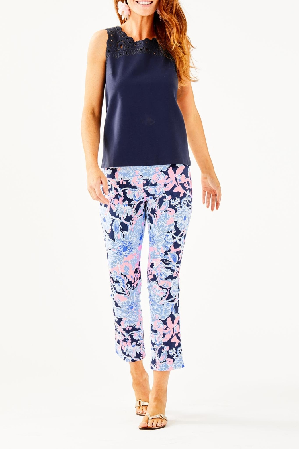 Lilly Pulitzer Edie Top - Side Cropped Image