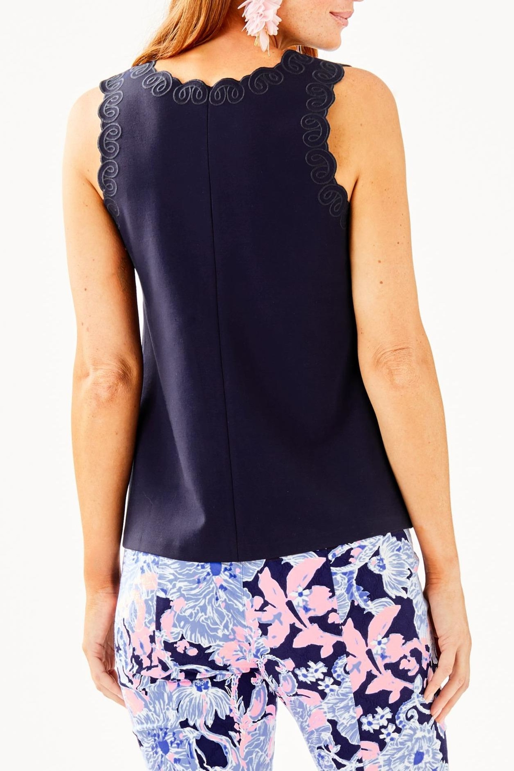 Lilly Pulitzer Edie Top - Front Full Image