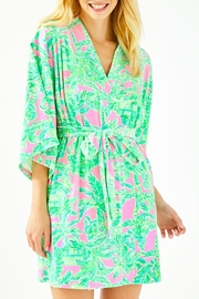 Lilly Pulitzer Elaine Robe - Front cropped