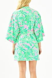 Lilly Pulitzer Elaine Robe - Front full body