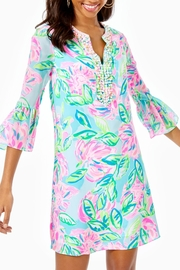 Lilly Pulitzer Elenora Silk Dress - Front cropped