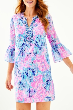 Lilly Pulitzer Elenora Silk Dress - Product List Image