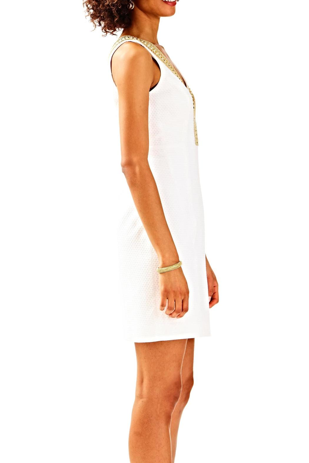 Lilly Pulitzer Eliot Shift Dress - Side Cropped Image