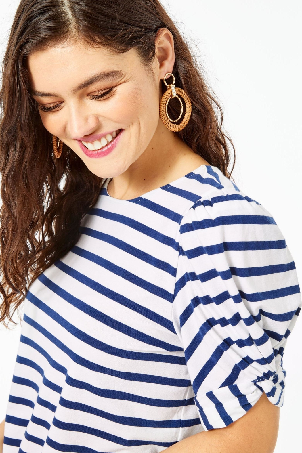 Lilly Pulitzer Elisabette Top - Side Cropped Image