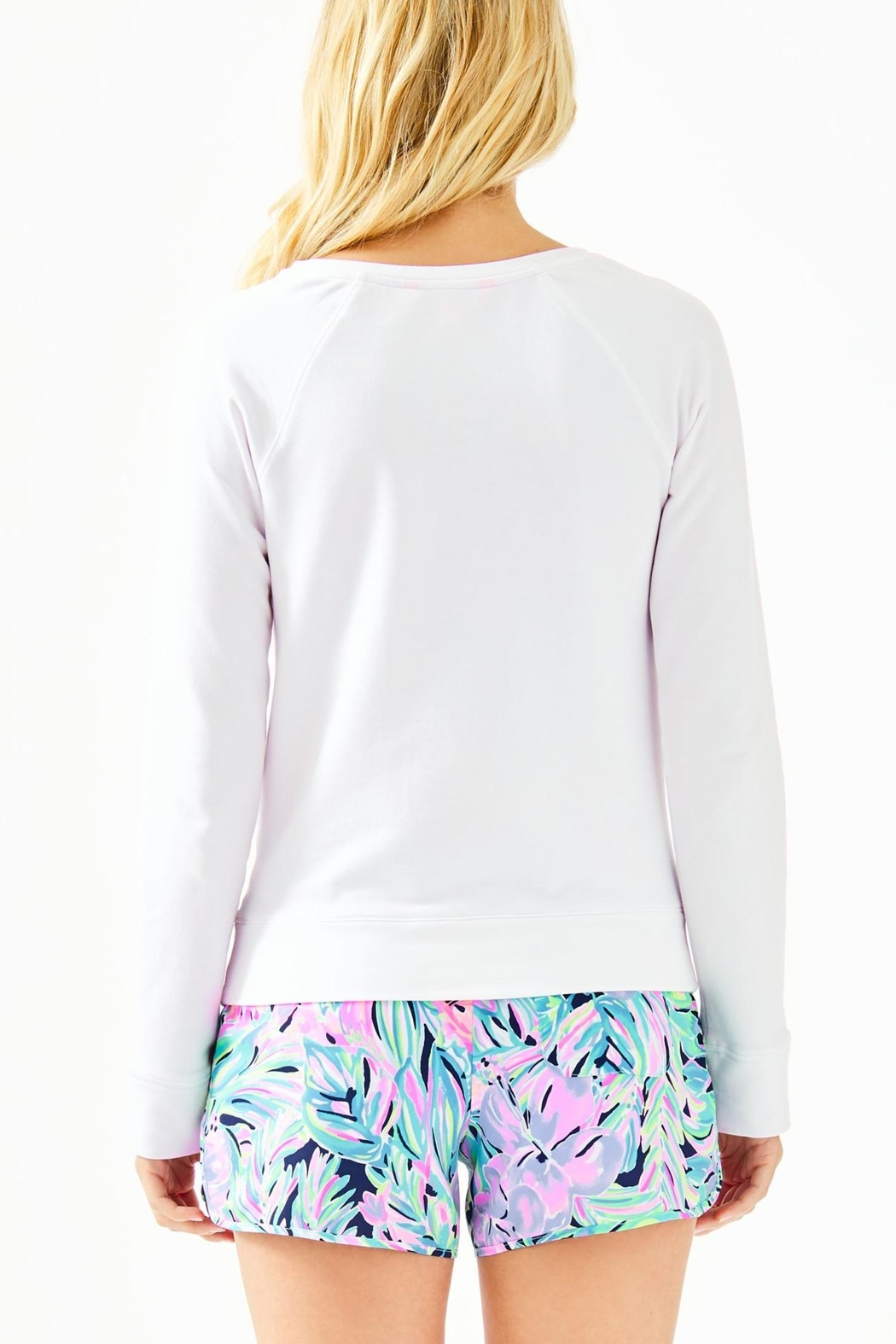 Lilly Pulitzer Elliana Pullover - Front Full Image