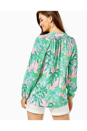 Lilly Pulitzer Elsa Silk Top - Front full body