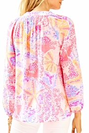 Lilly Pulitzer Elsa Long Sleeve Top - Front full body