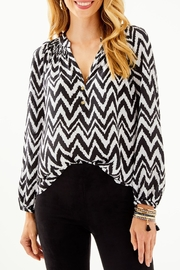 Lilly Pulitzer Elsa Top - Front cropped