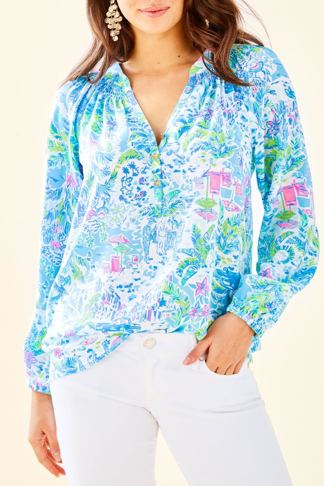 06c6fa11ebcdd2 Lilly Pulitzer Elsa Top from Sandestin Golf and Beach Resort by ...