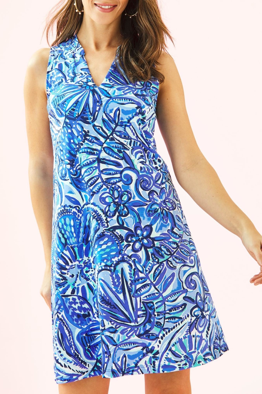 Lilly Pulitzer Emile Dress - Front Cropped Image