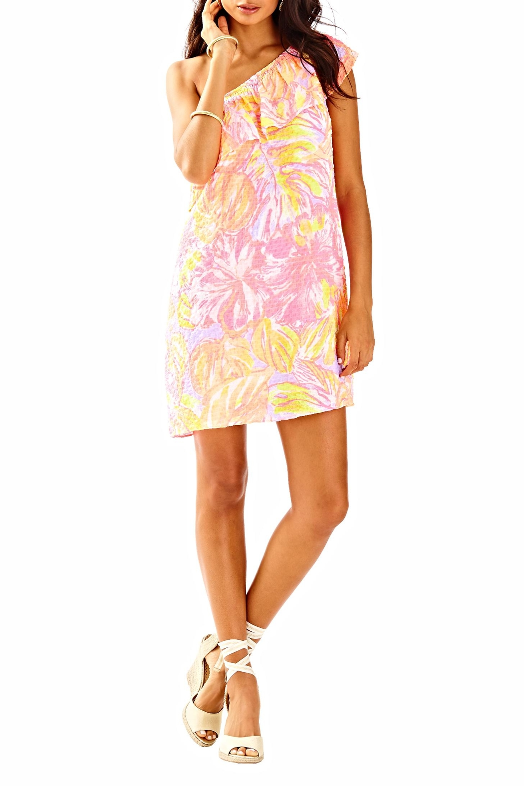 Lilly Pulitzer Emmeline Dress - Back Cropped Image