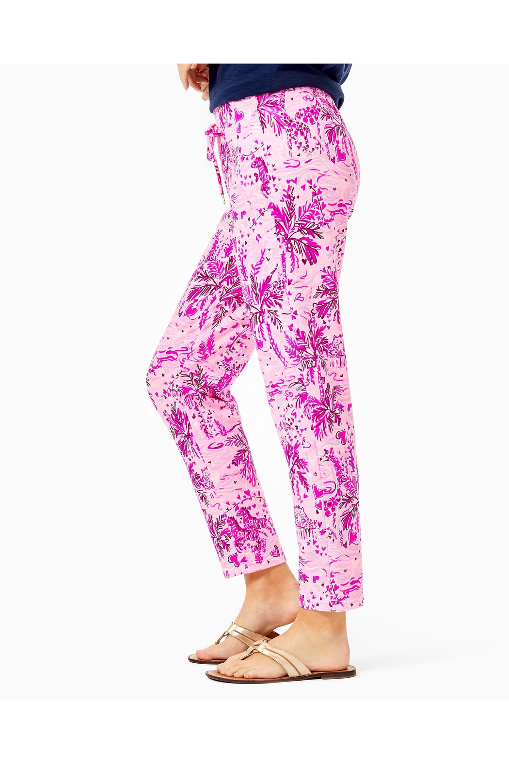 Lilly Pulitzer Emora Knit Pant - Side Cropped Image