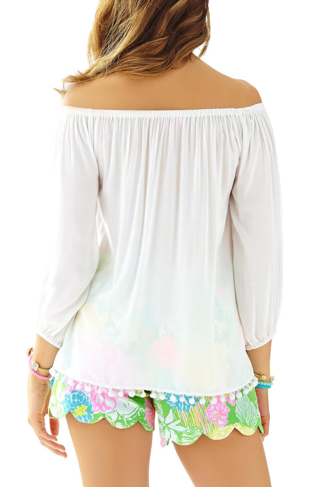 88d65790db16cc Lilly Pulitzer Enna Off-Shoulder Top from Sandestin Golf and Beach ...