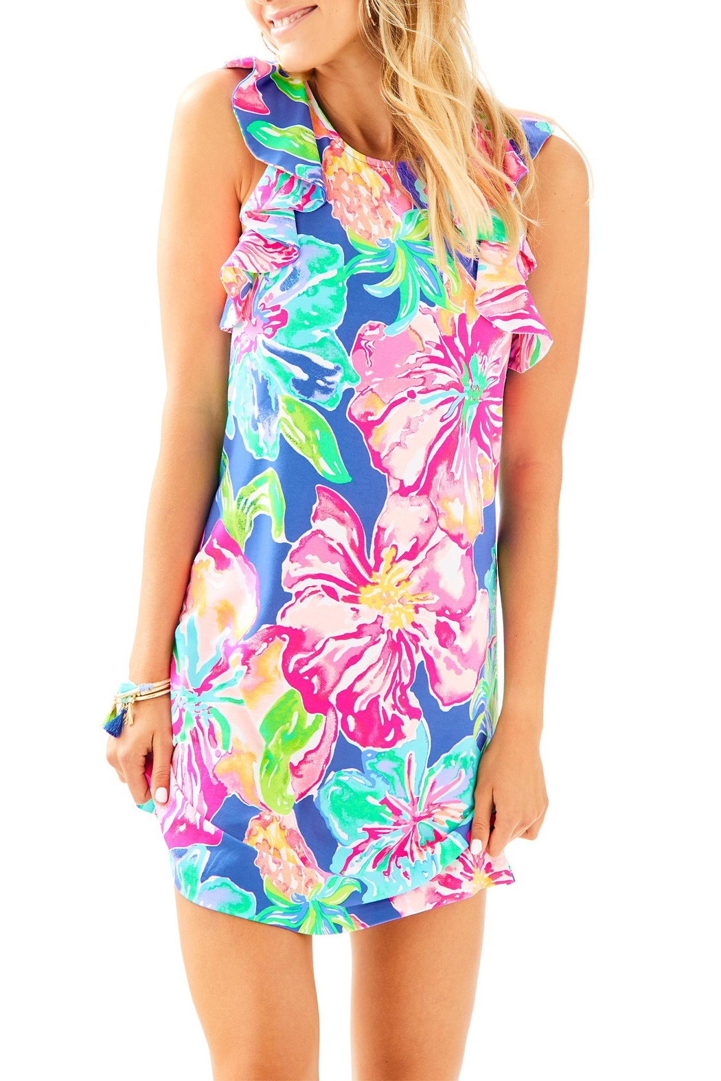 Lilly Pulitzer Esmeralda Dress - Front Cropped Image