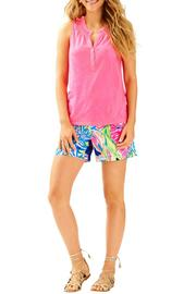 Lilly Pulitzer Essie Pink Top - Product Mini Image