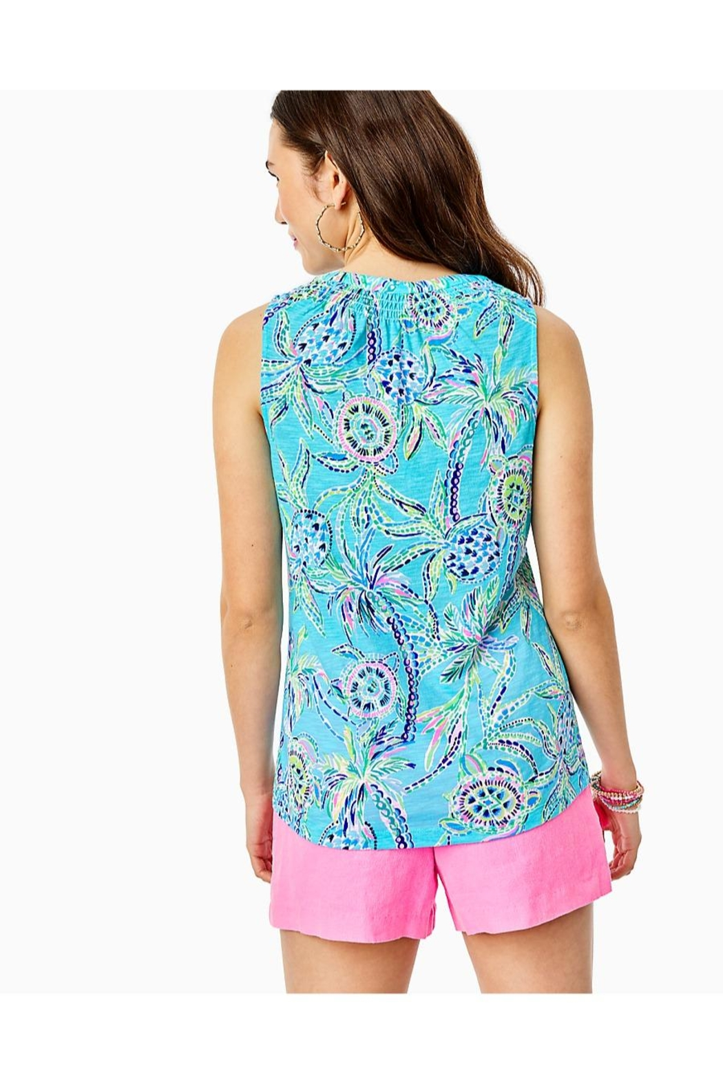 Lilly Pulitzer Essie Tank Top - Front Full Image