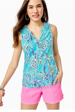 Lilly Pulitzer Essie Tank Top - Product List Image