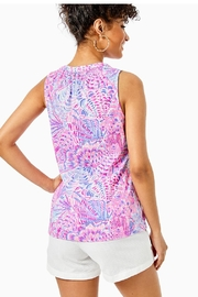 Lilly Pulitzer Essie Tank Top - Front full body