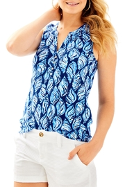 Lilly Pulitzer Essie Top - Front cropped
