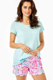 Lilly Pulitzer Etta Scoopneck Top - Product Mini Image