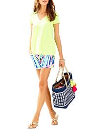 Lilly Pulitzer Etta V Neck Top - Product Mini Image
