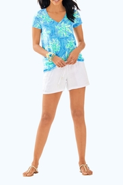 Lilly Pulitzer Etta V-Neck Top - Side cropped