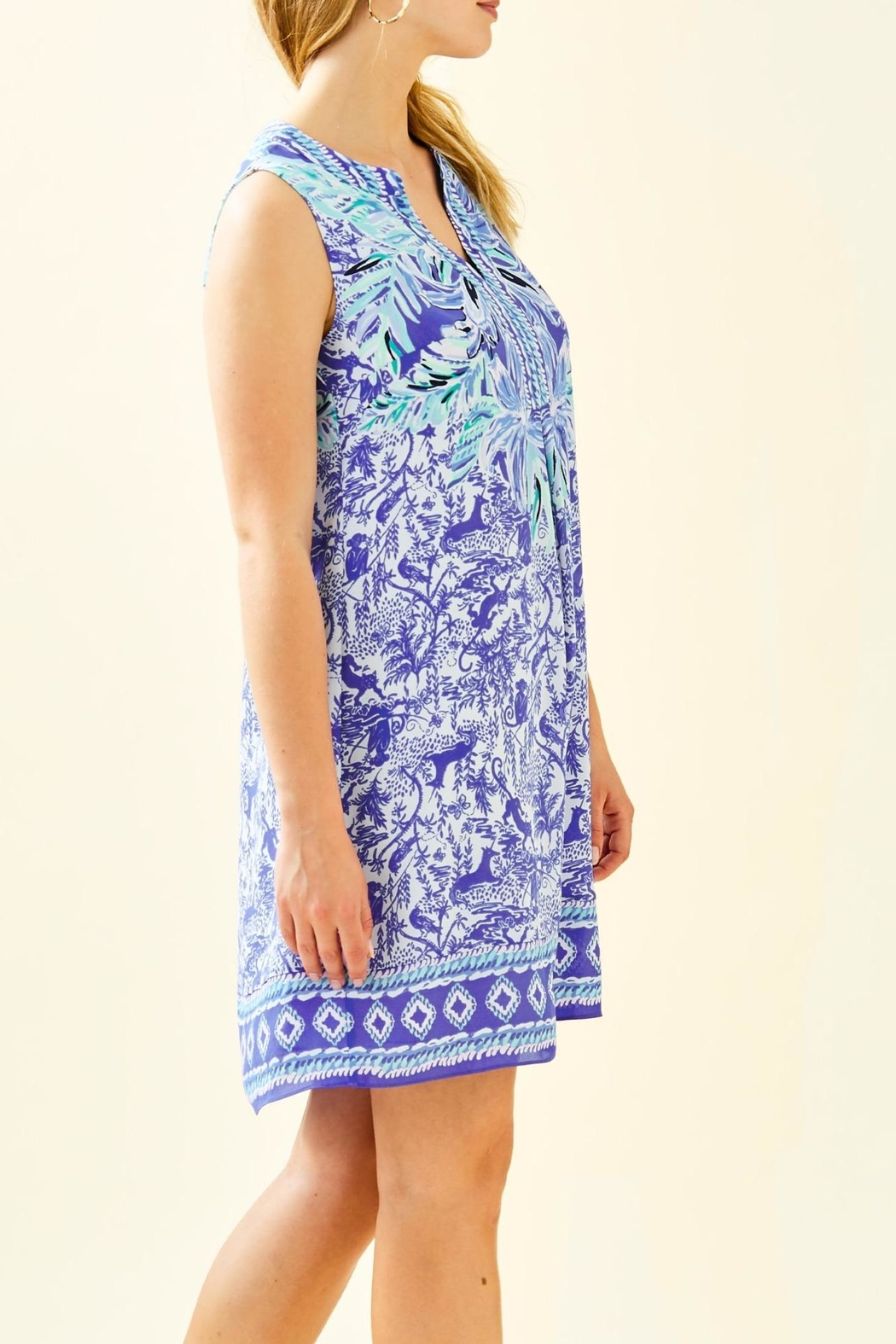 Lilly Pulitzer Evah Shift Dress - Side Cropped Image