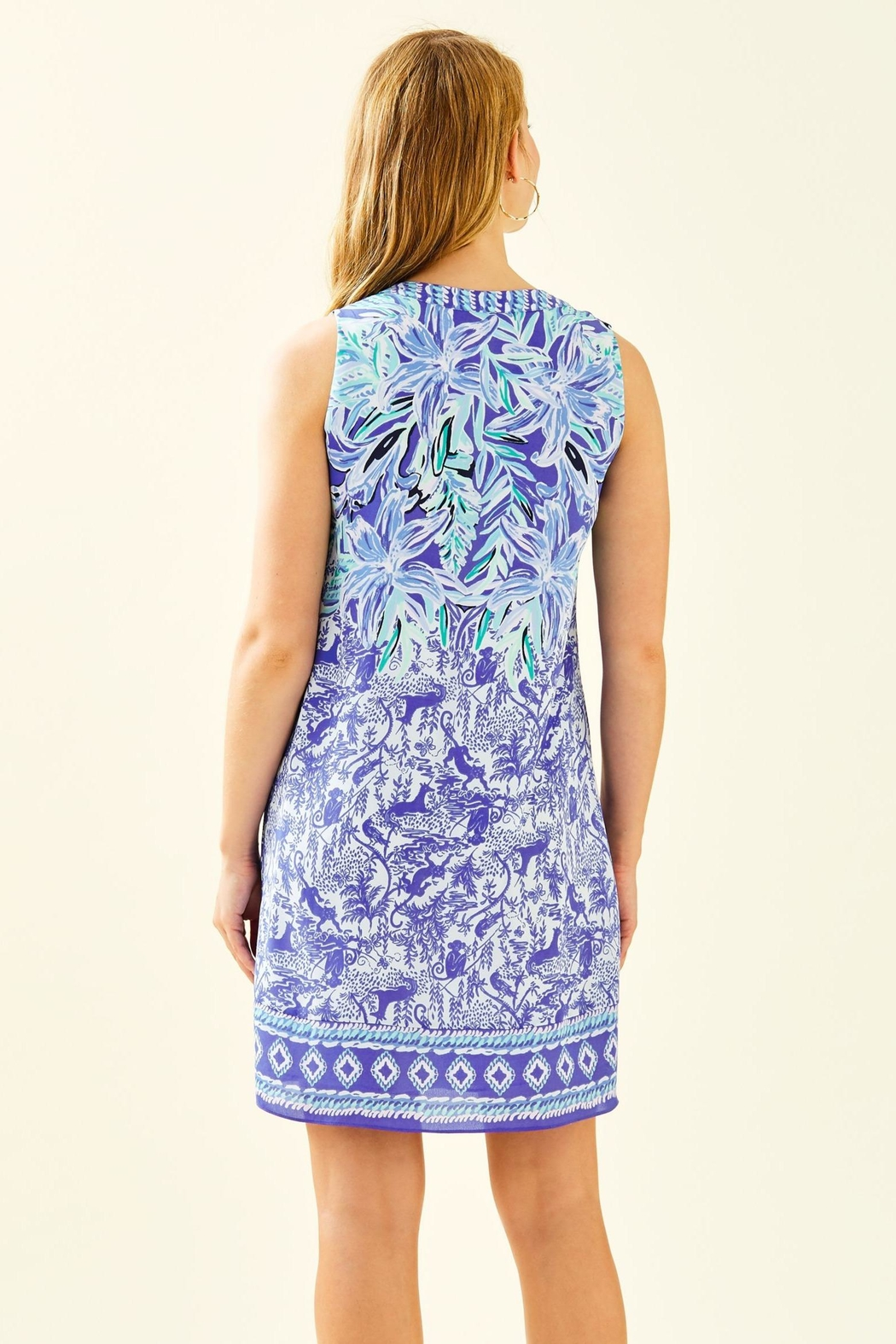 Lilly Pulitzer Evah Shift Dress - Front Full Image