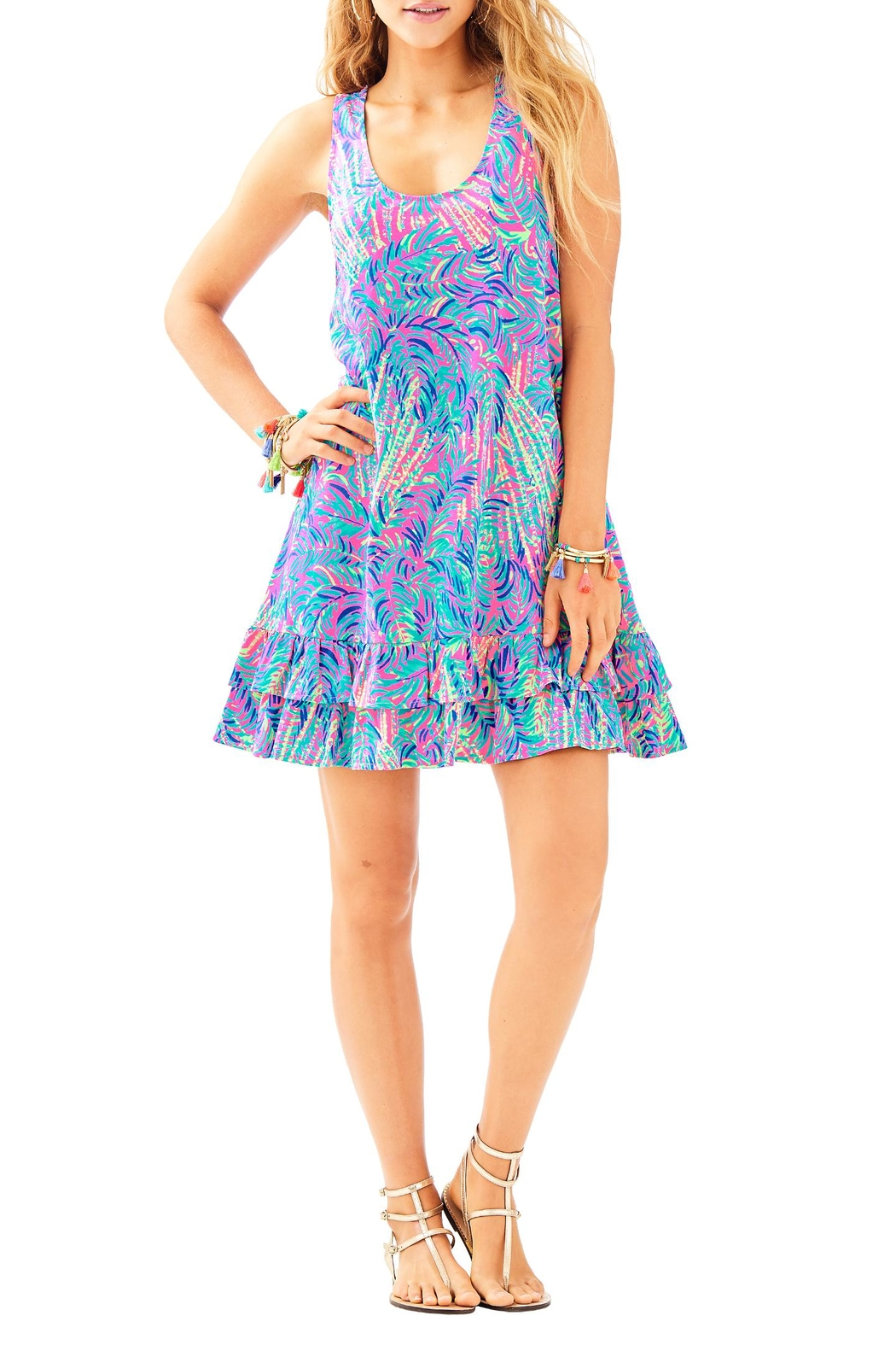 Lilly Pulitzer Evangelia Dress - Back Cropped Image