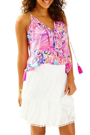 Lilly Pulitzer Evelyn White Skirt - Product Mini Image
