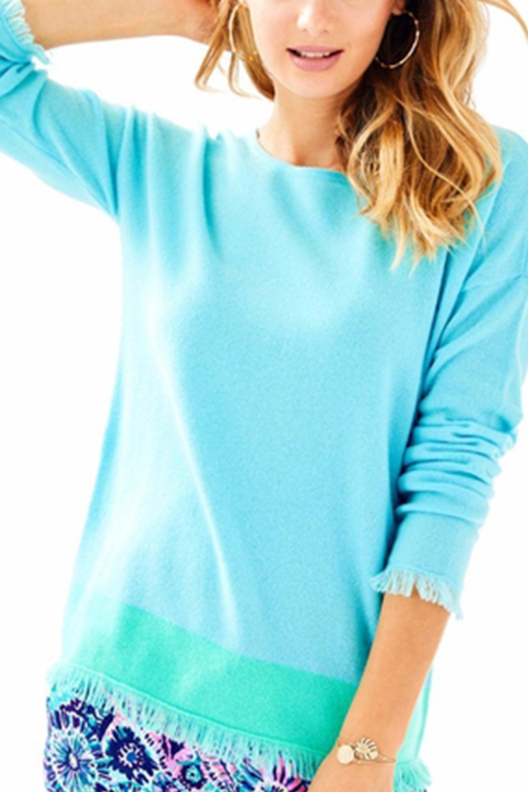 Lilly Pulitzer Fairfax Cashmere Sweater - Main Image