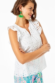 Lilly Pulitzer Faun Top - Front cropped